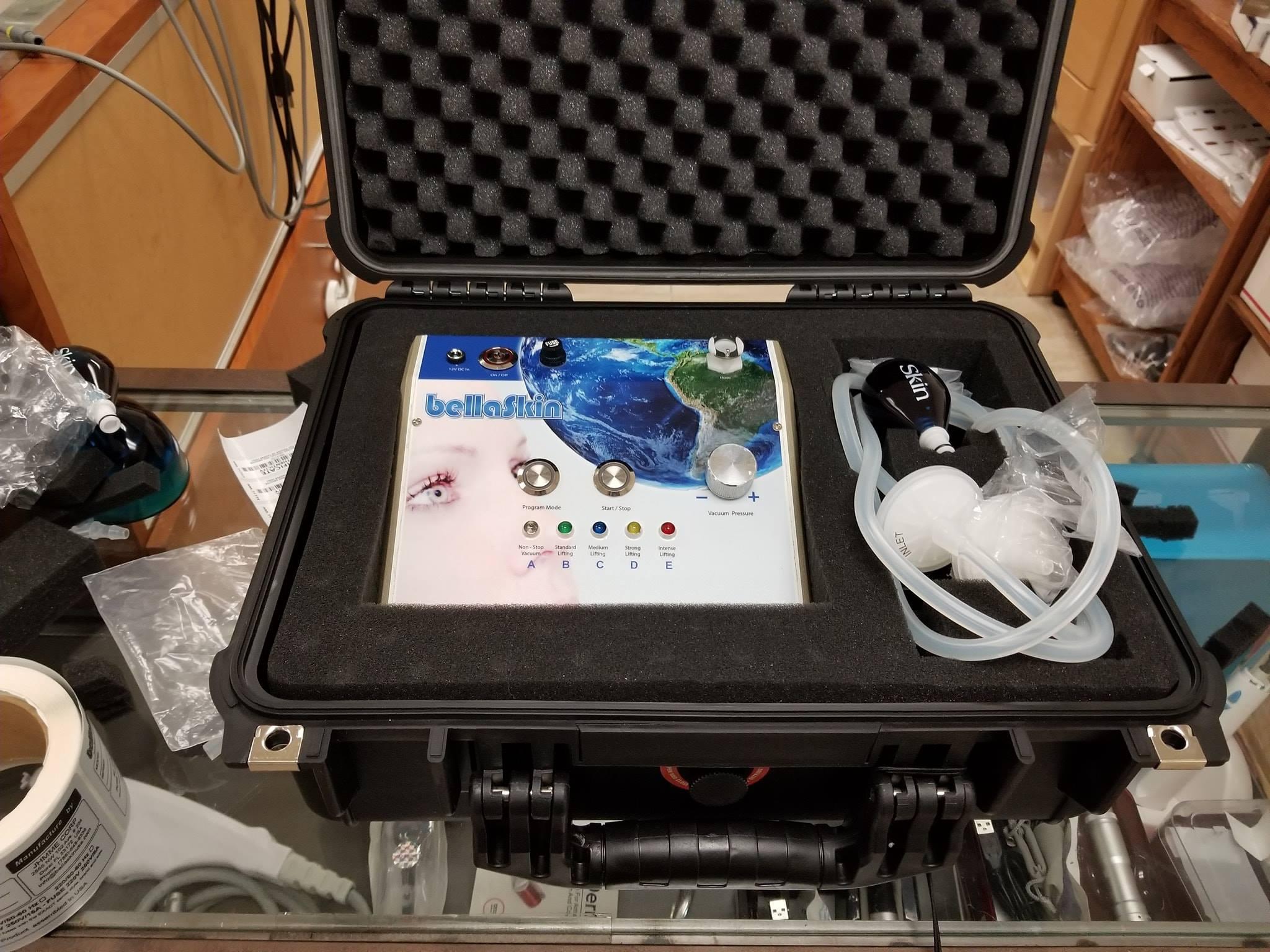 Machine Vacuum nano avec valise pour lifting colombien