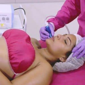 traitement du visage vacuum therapy