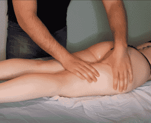 massage before vacuum therapy